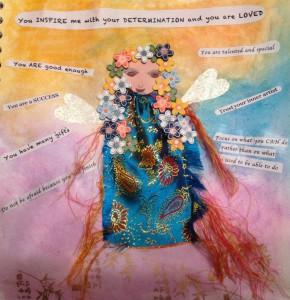 Deepa fairy art mother